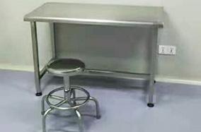 配套的不锈钢台桌
